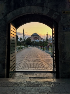 The Aya Sofia in morning light