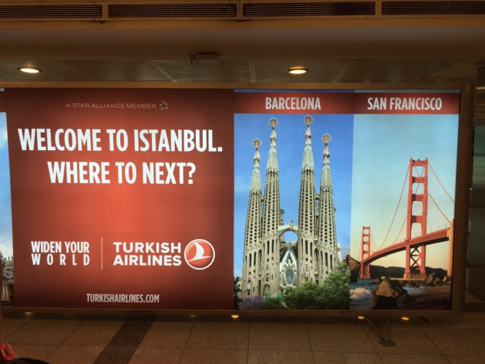 A Spaniard and a Californian in Istanbul